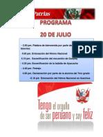 Programa de Fiests p