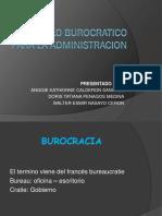 Modelo Burocratico Para La Administracion