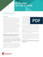 Freon m099 Retrofit Guidelines