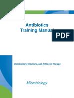 Antibiotics Training Manual
