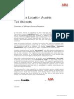 Sistema de Impuestos en Austria (EN)
