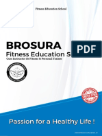 BROSURA Curs Instructor Fitness Personal Trainer-Fitness-Education-School