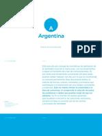 Marca Pais Argentina - Manual de Marca