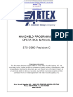 ARTEX 455 9181 Operations Manual