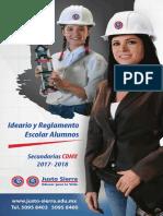 Reglamento Sec DF 2017