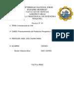 Práctica N° 03 Determinación del TVN