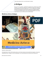 Medicina Azteca Antigua_ Historia, Curas y Enfermedades de Los Aztecas