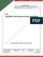 HV320WXC-200-BOE