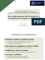 Clase 5 Jornada Transporte y Logistica - Presentacion Jose Barbero Rosario Oct 2014