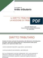 Tributo nel diritto italiano