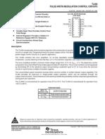 TL494CN Controlador de Suminstro de Potencia