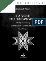 La Voie Du Tassawuf Al Alawi