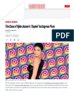 Kylie Jenners Copied Instagram Pose