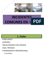 Incidentes Comunes en URPA