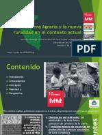 La Reforma Agraria y la nueva ruralidad en el contexto actual