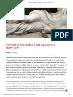 Filozof Je Bio Daleko Od Ugovora s Đavolom - XXZ Portal