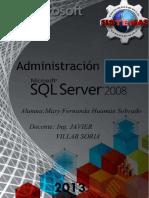 Administración de Base de Datos Con Microsoft SQL 2008