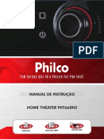 Philco PHT660N2 Home Theather Manual