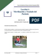MR 6 Pgs.10 - Movilización y Traslado Del Paciente