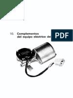 10 - Curso de Electricidad Del Automovil - Equipo Electrico Auxiliar