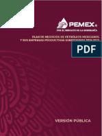 Plan de Negocios de Pemex 2019-2023