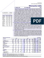 Brokerage Report of Monsanto agro 2014