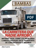 Libro Carretera Las Bambas