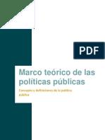 Marco Teórico de Las Políticas Públicas