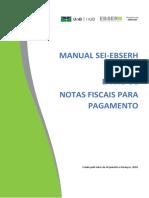 Manual Encaminhamento de Nota Fiscal Para Pagamento