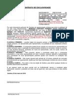 MODELO CONTRATO DE EXCLUSIVIDADE SESC.docx