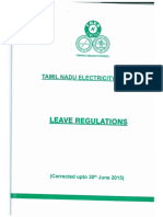 Leave Regulation TNEB
