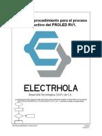 Manual de Procedimiento (EDP)