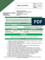 Manual Funciones Analista Contabilidad