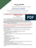 Lege 448-2006 (Republicata 03.01.2008) Modificata Prin Oug 84