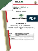 Practica 3. Reactores Heterogeneos