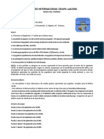 Bases I Torneo Internacional Edapa Sub2200