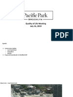 Atlantic Yards/Pacific Park Quality of Life Presentation 7/16/19
