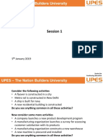 Session 1- 08.01.19 Basics of Project Management