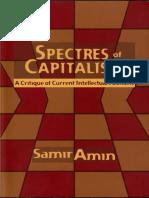 AMIN, Samir - Spectres of capitalism