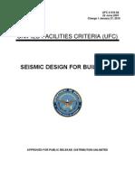 Ufc 3 310 04-Seismic Design for Building