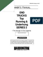 Series 3 End Trucks Owners Manual