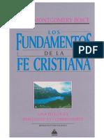 Fundamentos de La Fe Cristiana - ToMO I - James Boice(1)