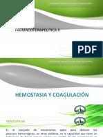 Hemostacia y Coagulación Farmaco