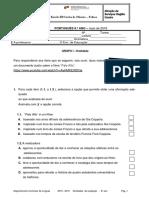 DL Teste 5 IAVE Português 9 2018-2019
