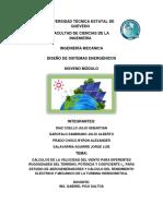 AEROGENERADORES y Turbina Hidrocinetica