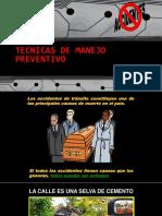Tecnicas de Manejo Preventivo