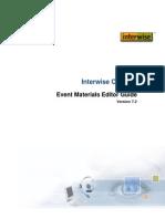 6 UG Event Materials Editor 72