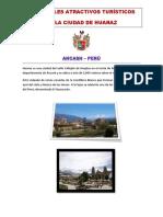 Principales Atractivos Turísticos de La Ciudad de Huaraz