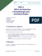Modelo Solucion M0.367 PEC 2 Psicopatologia Para Neuropsicologos