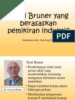 Teori Bruner Sains